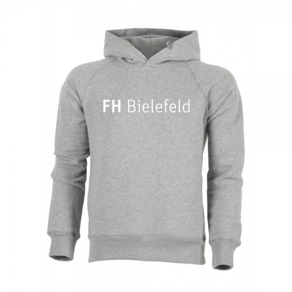 Unisex Hoodie FHB (Bio + Fairwear), heather grey